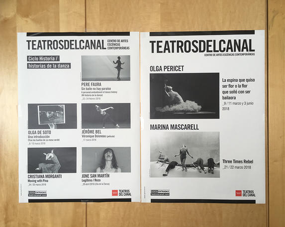 Programme of Teatros del Canal, Madrid