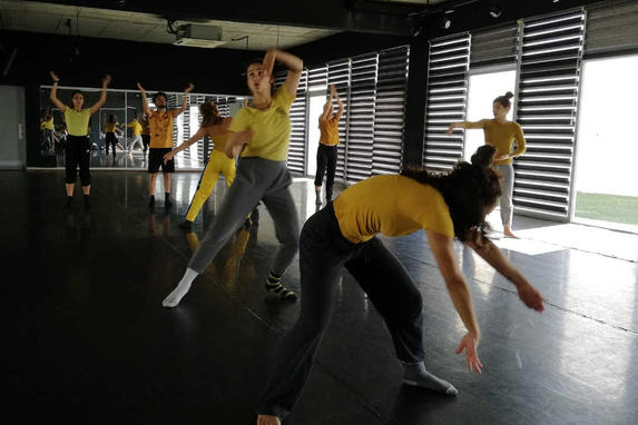 Rehearsals at PERA - School of Performing Arts, Cyprus